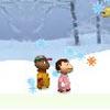 Schneeflocken fangen